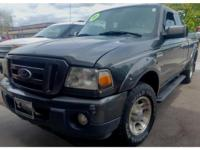 This 2010 Ford Ranger  has a V6, 4.0L; SOHC high output