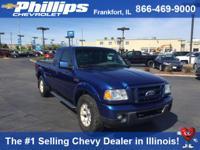 Options:  2010 Ford Ranger Sport|Blue|4.0L V6 Sohc And