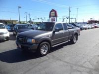 Sporty Ford Ranger Super Cab 4x4! Please call  or visit