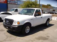 2010 FORD RANGER XL .4 CYLINDER. AUTOMATIC. AIR