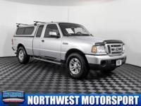 4x4 Truck With A Canopy!  Options:  Tinted Glass|Am/Fm