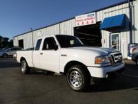This Rugged, 2010 Ford Ranger XLT Extended Cab 4x2