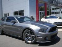 Shelby GT500 5.4L V8 32V Supercharged. Clean CARFAX.