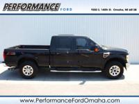 Lariat trim. CARFAX 1-Owner. Leather Seats, iPod/MP3