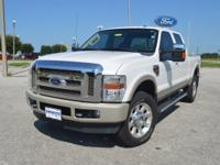This well kept, one owner Ford F350 King Ranch CrewCab