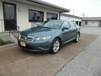 2010 FORD TAURUS SEL-GORGEOUS STEEL BLUE EXTERIOR-REAL