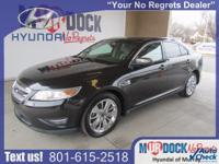 Black 2010 Ford Taurus Limited FWD 6-Speed Automatic