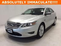 Options:  2010 Ford Taurus Limited|Silver|*Chrome Clad