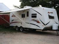 2010 Forest River Viking Apex 22QBS Travel Trailer This