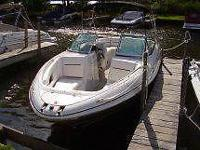 2010 Four Winns Model H260 Bowrider, color white, with