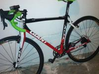 For sale is a lightly used 2010 Giant TCX 1 cyclocross