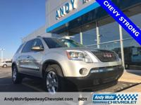 Accident FREE Carfax History Report**, Acadia SL, 3.6L
