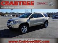 Options:  2010 Gmc Acadia Sle|Awd Sle 4Dr Suv|3.6L|6