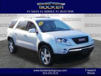 It doesn't get much better than this 2010 GMC Acadia