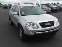 Silver 2010 GMC Acadia SLT-1 AWD 6-Speed Automatic