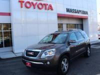Br 2010 GMC Acadia SLT-1 AWD 6-Speed Automatic