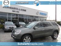 This GMC Acadia SLT-1  has many valuable options,