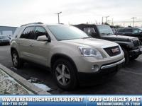 Come see this 2010 GMC Acadia SLT1. Its Automatic