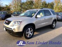 Options:  2010 Gmc Acadia Slt1 Fwd|Advertised Price