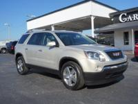 Options:  2010 Gmc Acadia Slt-1|Slt-1 4Dr Suv|2 Years