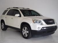 2010 GMC Acadia SLT-1 3.6L V6 SIDI FWD. Please do not