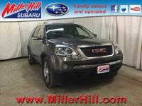 2010 GMC Acadia SLT AWD 3.6L V6 ready to go! With third