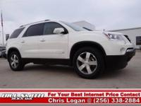 This is one Sharp GMC Acadia 2WD!! It has the SLT-1