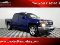 Options:  2010 Gmc Canyon Sle1|Blue|Crew Cab! Short