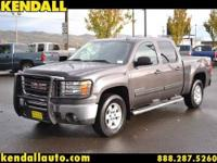 This 2010 gmc 1500 sle has leather and heated