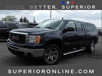 CARFAX One-Owner. Clean CARFAX. Dark Blue 2010 GMC