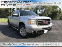 Options:  2010 Gmc Sierra 1500 Slt|Pure Silver
