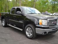 This 2010 GMC Sierra 1500 SLT Ext. Cab 4WD features a
