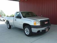 Options Included: N/A2010 SIERRA 1500 REG CAB LONG BED