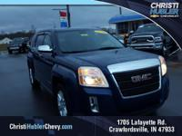 2010 GMC Terrain SLE-1 in Blue, Accident Free Cafax