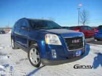 The 2010 GMC Terrain is a midsize crossover SUV