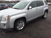 2010 GMC Terrain SLE-2 in Onyx Black. AWD, Brake
