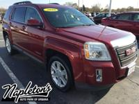 Recent Arrival! 2010 GMC Terrain in Red, AUX