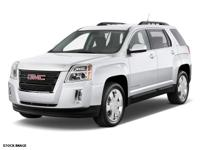 Clean CARFAX. Black 2010 GMC Terrain SLE-2 FWD 6-Speed