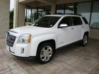 This 2010 Terrain is a mid-sized SUV made on a unibody