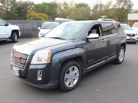 Gray 2010 GMC Terrain SLT-2 AWD 6-Speed Automatic 3.0L