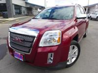 Options:  2010 Gmc Terrain Slt-2|Red|Chrome Appearance