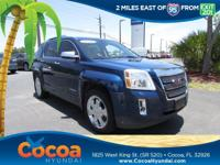 This 2010 GMC Terrain SLT-2 in Blue features: New