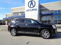 2010 GMC Terrain SLT-2 in Black, *NO ACCIDENTS EVER,