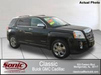 One Owner Trade In 2010 GMC Terrain AWD with the SLT-2