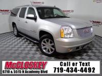 Powerful Denali in Immaculate Condition! 4X4, Third Row