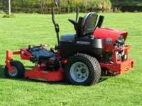 this is a 2010 gravely 260 z commercial mower. I have