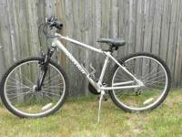 I have a 2010 Gray Raleigh mountain bike for sale. It