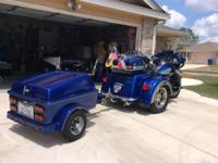 This Trike comes with a trailer to match the trike for