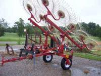 2010 H&S 10 Wheel Rake Hydraulic Fold, One Owner Has