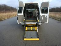This is a 2010 Handicap Accessible Ford Econoline